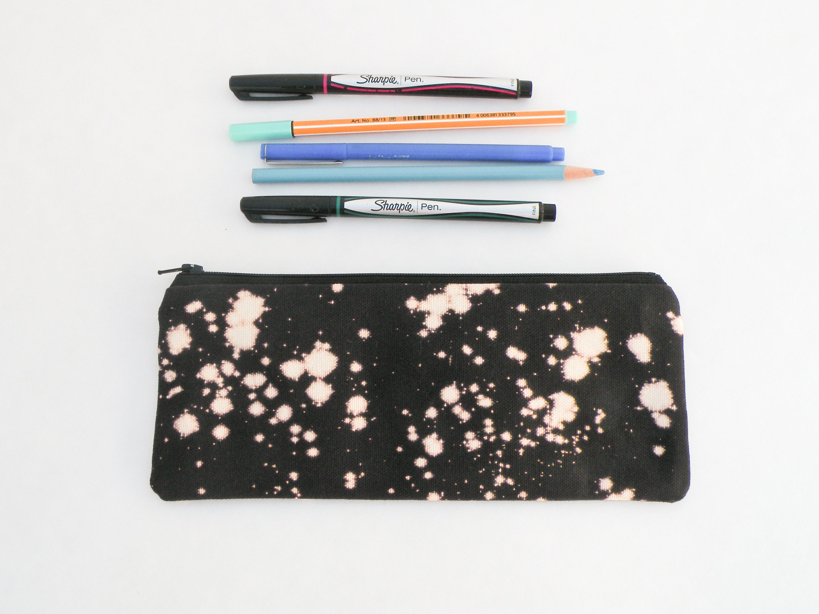 Black Pencil Case - Starlightbags