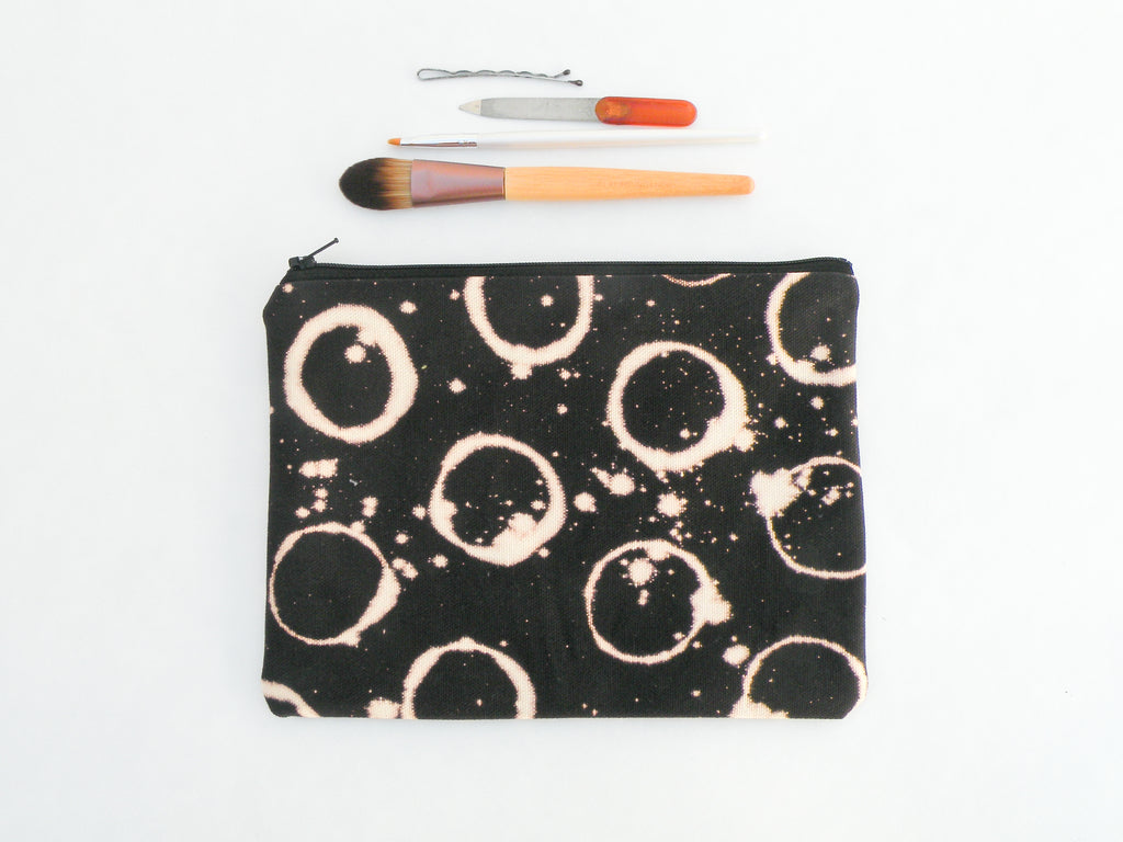 Eclipse Black Cosmetic Bag - Starlight Bags
