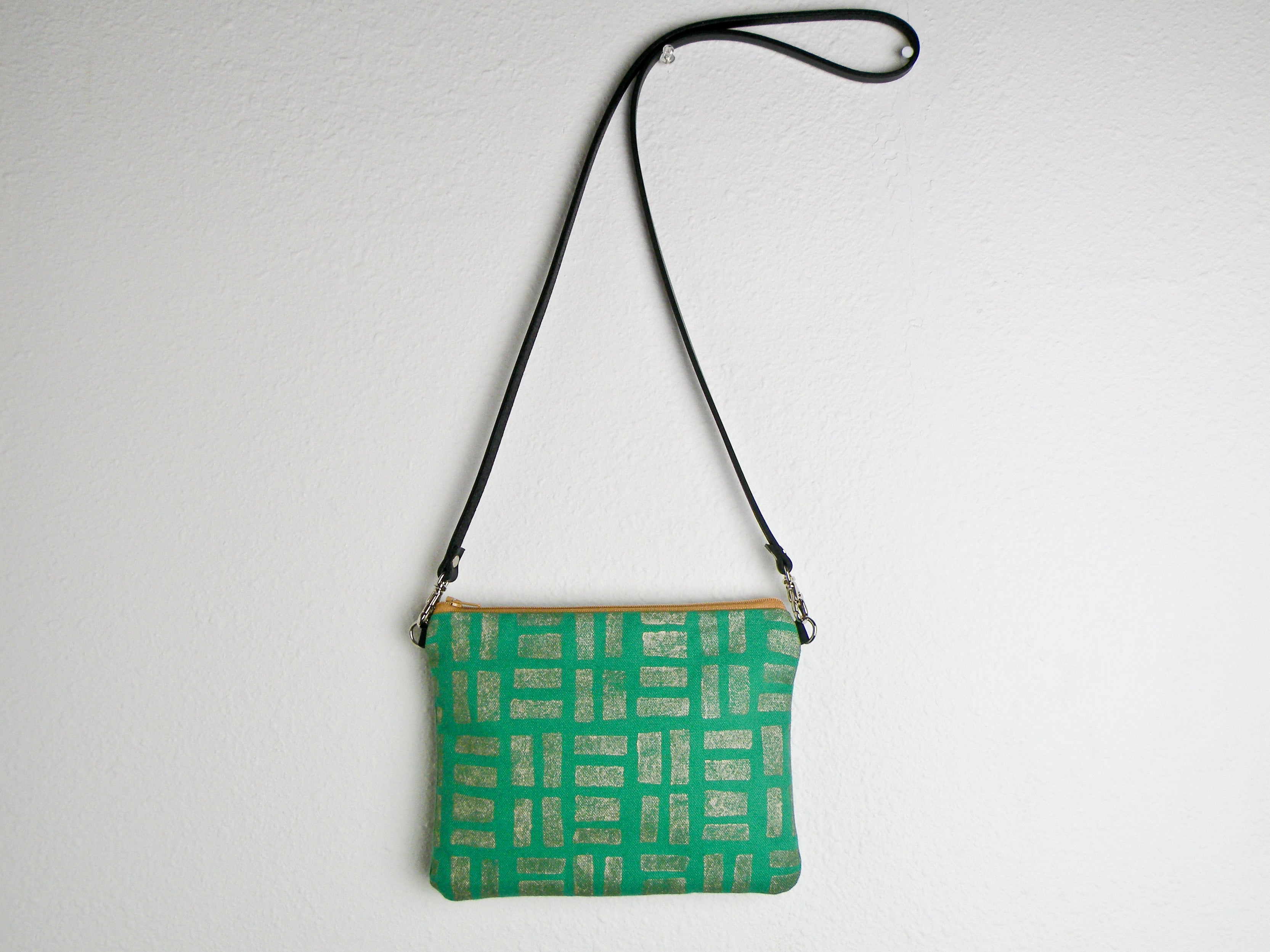 Emerald and Gold Tiny Purse - Starlight Bags
