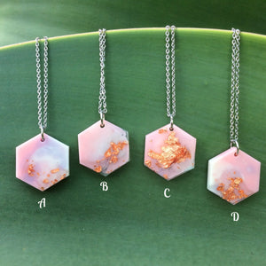 Pink Necklace - Starlight Bags