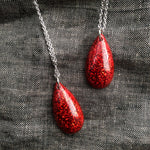 Ruby Slipper Red Gem Necklace - Starlight Bags