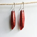 Ruby Slipper Red Gem Earrings - Starlight Bags