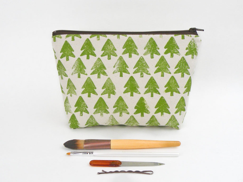 Evergreen Forest Makeup Bag - Starlight Bags