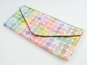 Rainbow Watercolor Trifold Wallet - Starlight Bags