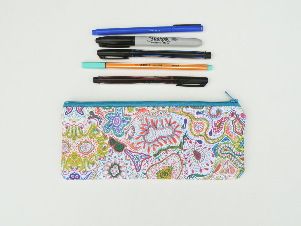 Rainbow Pencil Case - Starlight Bags