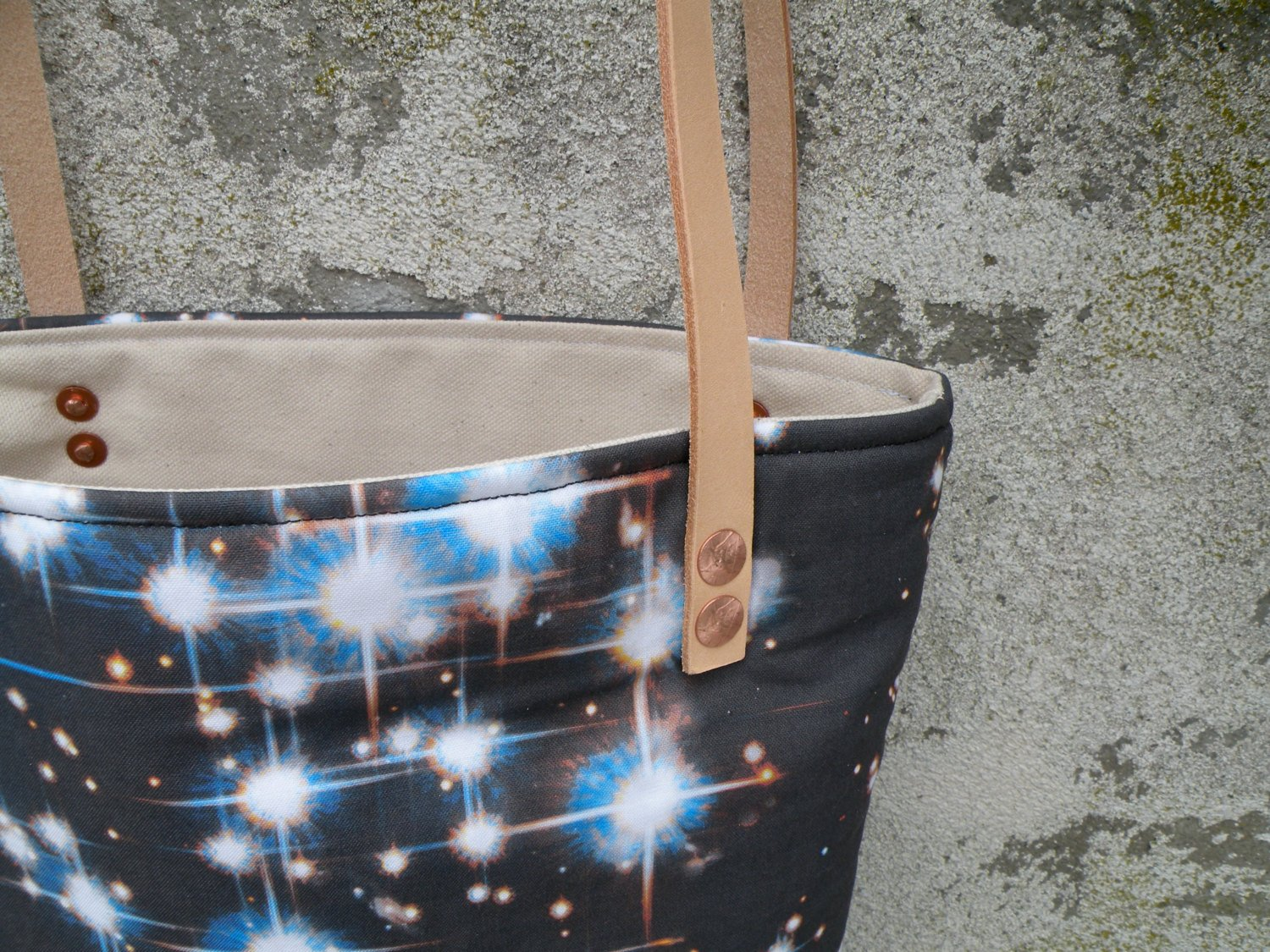 Outer Space Tote Bag - Starlight Bags