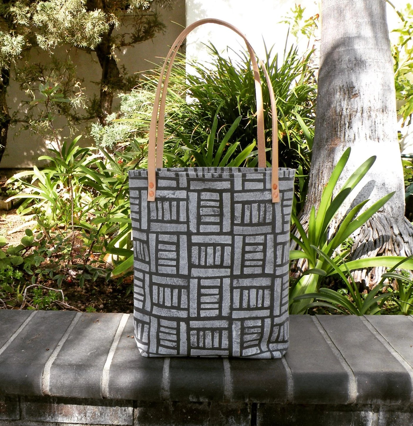 Grey Tote Bag - Starlight Bags
