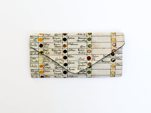 Watercolor Chart Wallet - Starlight Bags