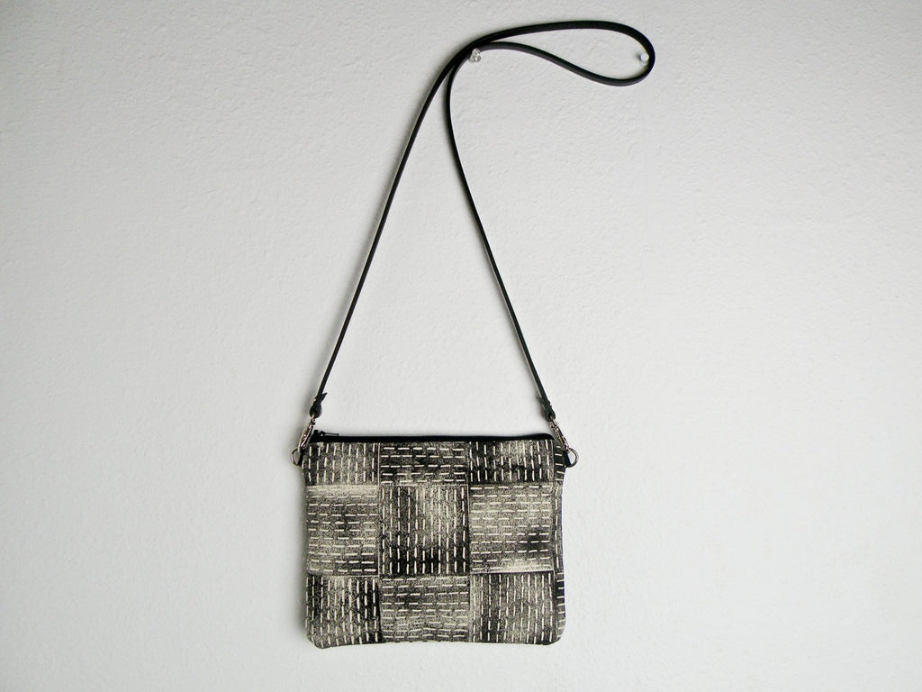 Block Stitch Tiny Crossbody Purse - Starlight Bags