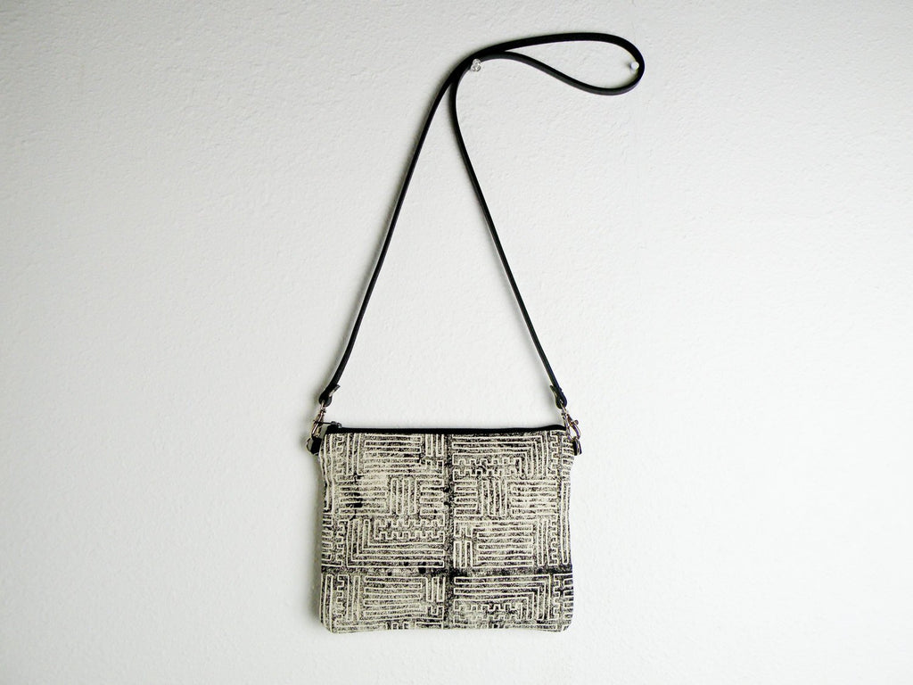 Tiny Purse in Maze - Starlight Bags