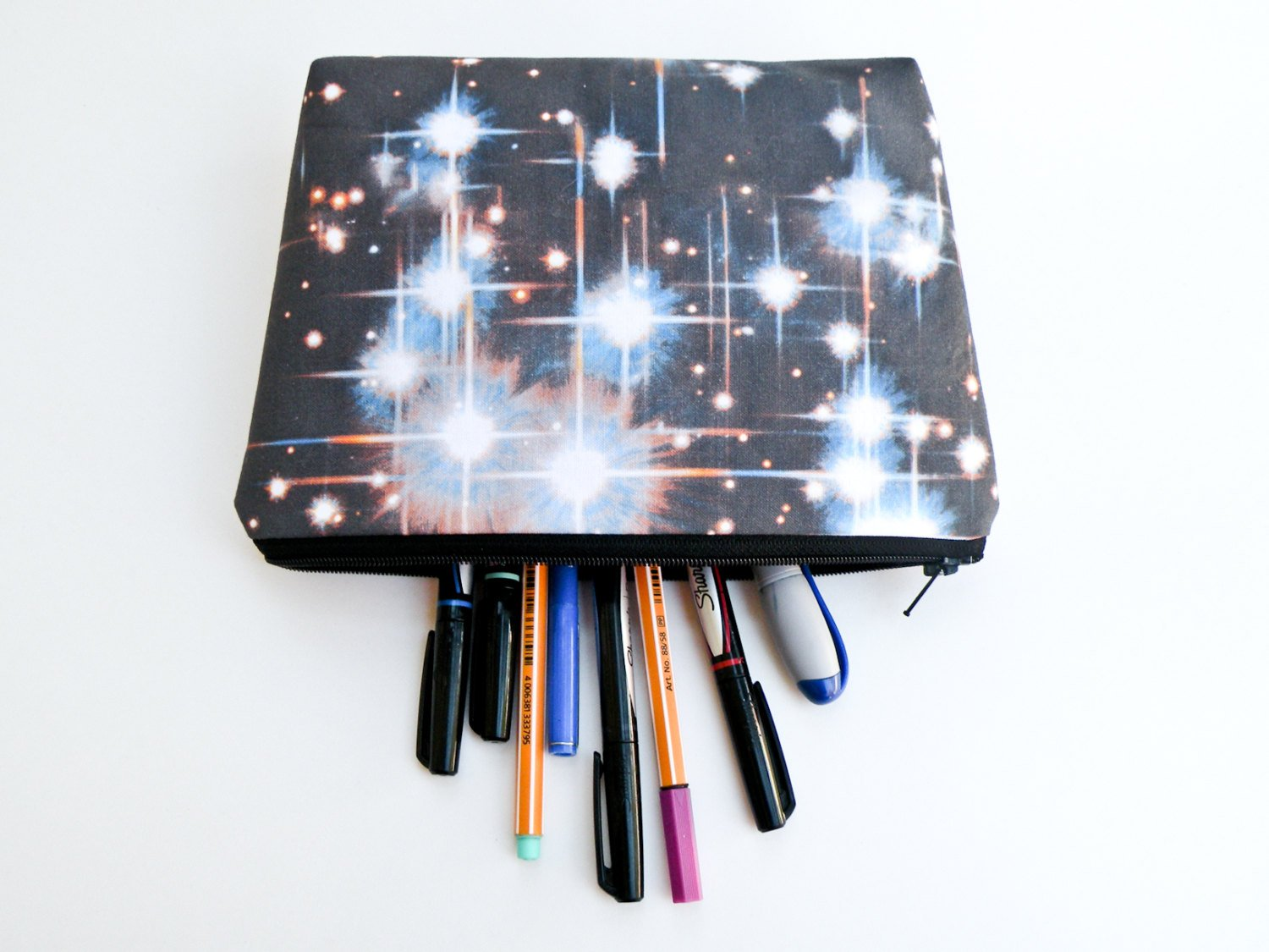 Outer Space Makeup Bag - Starlight Bags