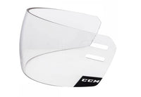 Hockey referee visor ccm vr25 straight clear side