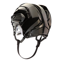 black warrior covert px2 hockey referee helmet back