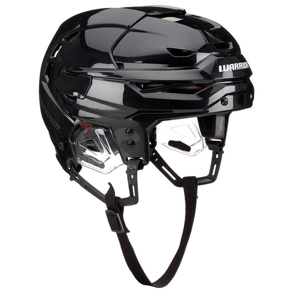 Black warrior covert rs pro hockey referee helmet