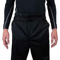 Zebrasclub ZP1 hockey referee pants front view