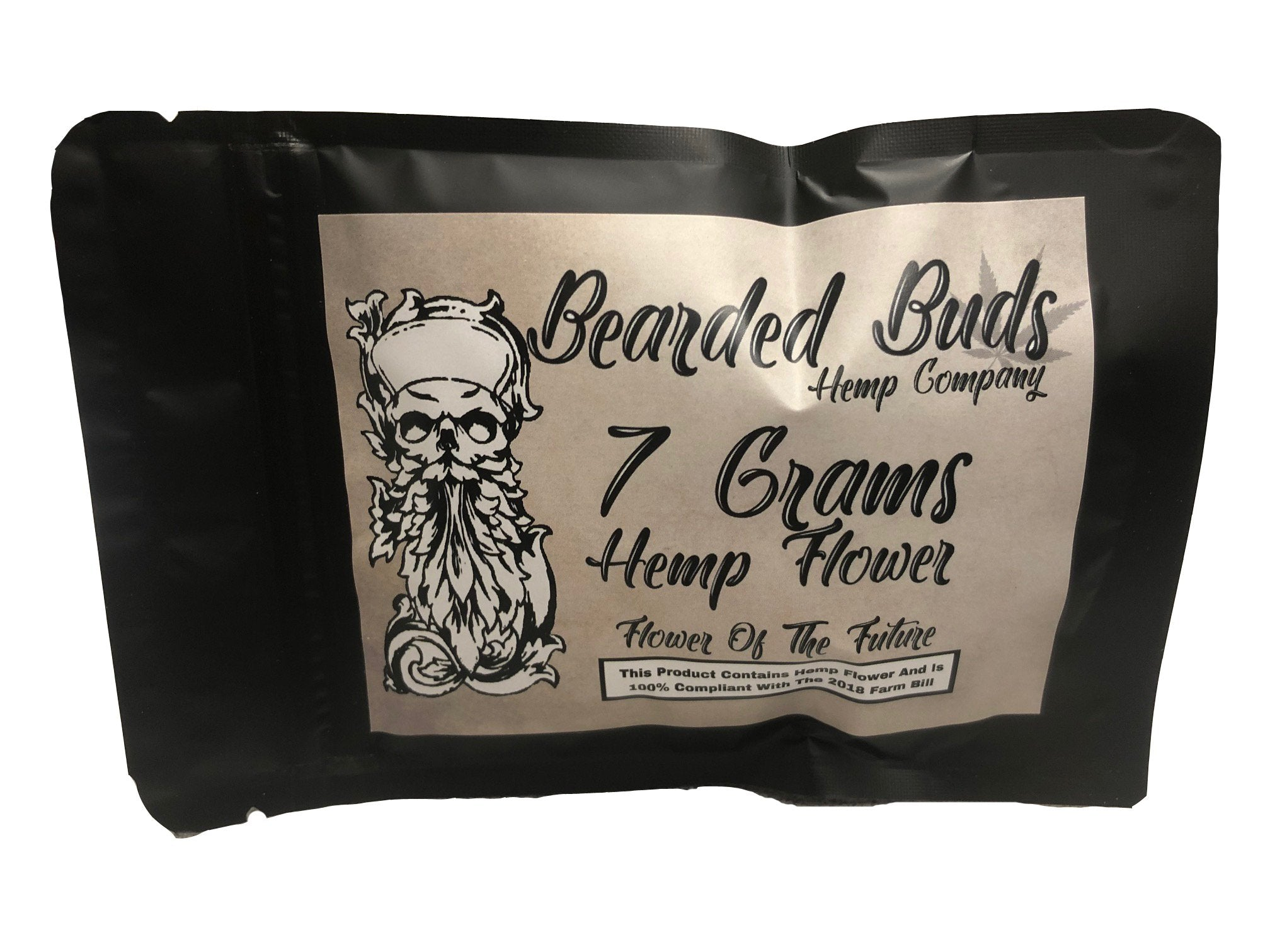 CBD BEARDED BUDS HEMP FLOWER 7G