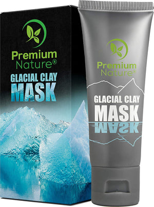 Glacial Clay Face Mask by Premium Nature