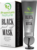 Black Peel-off Mask by Premium Nature