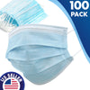 Disposable Ultimate Protect Face Mask Virus Flu Medical Face Mask 100 PK