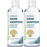 Hand Sanitizer Premium Nature 6.75 oz 200 ml 2 pack
