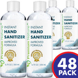 Hand Sanitizer Gel Natural Advanced KILLS 99% OF GERMS MADE IN USA 48 x 6.75 OZ/ 200 ML