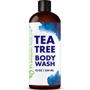 Tea Tree Body and Foot Wash, 12 oz