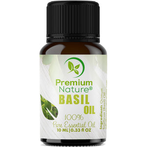 Basil Essential Oil by Premium Nature