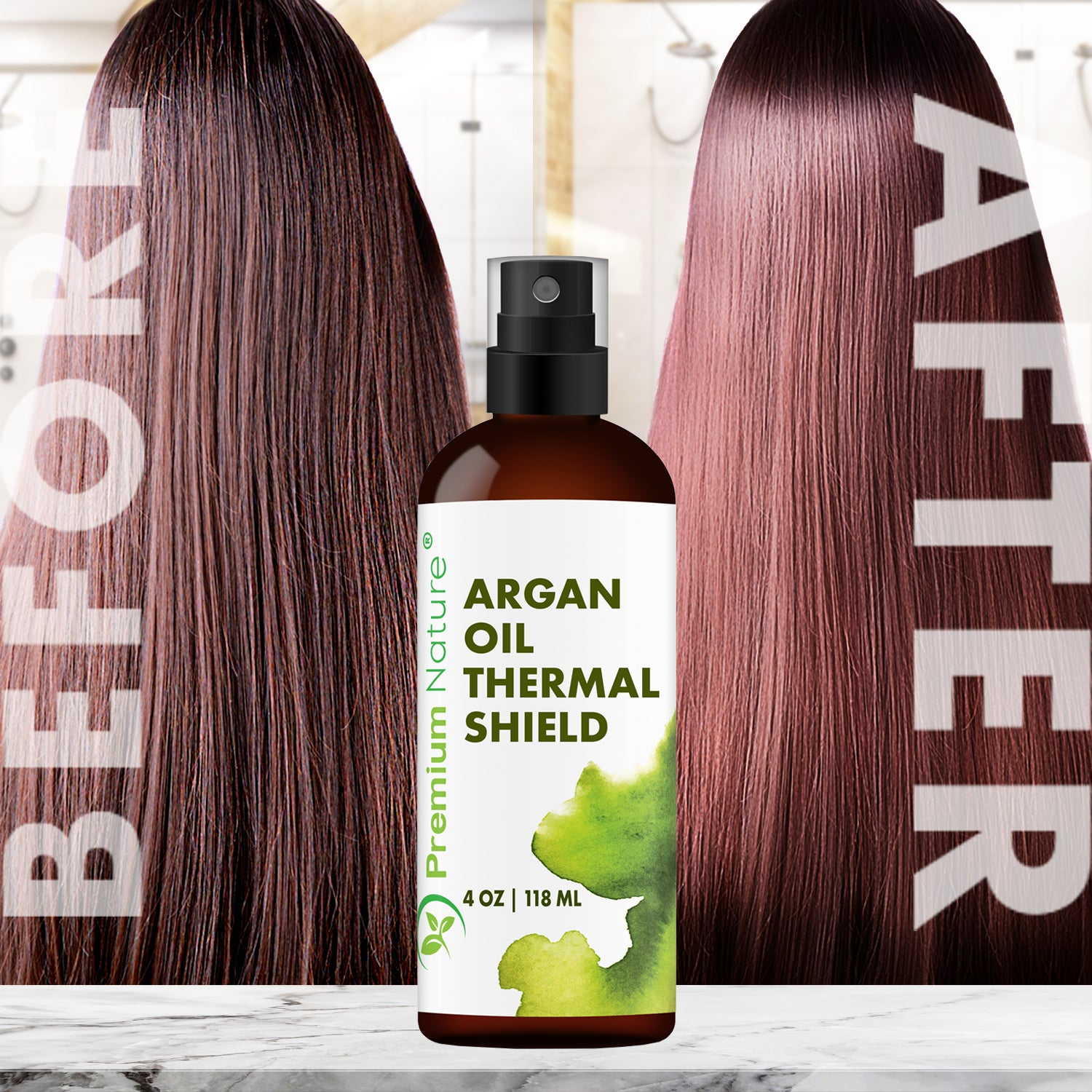 Argan Oil Thermal Shield by Premium Nature