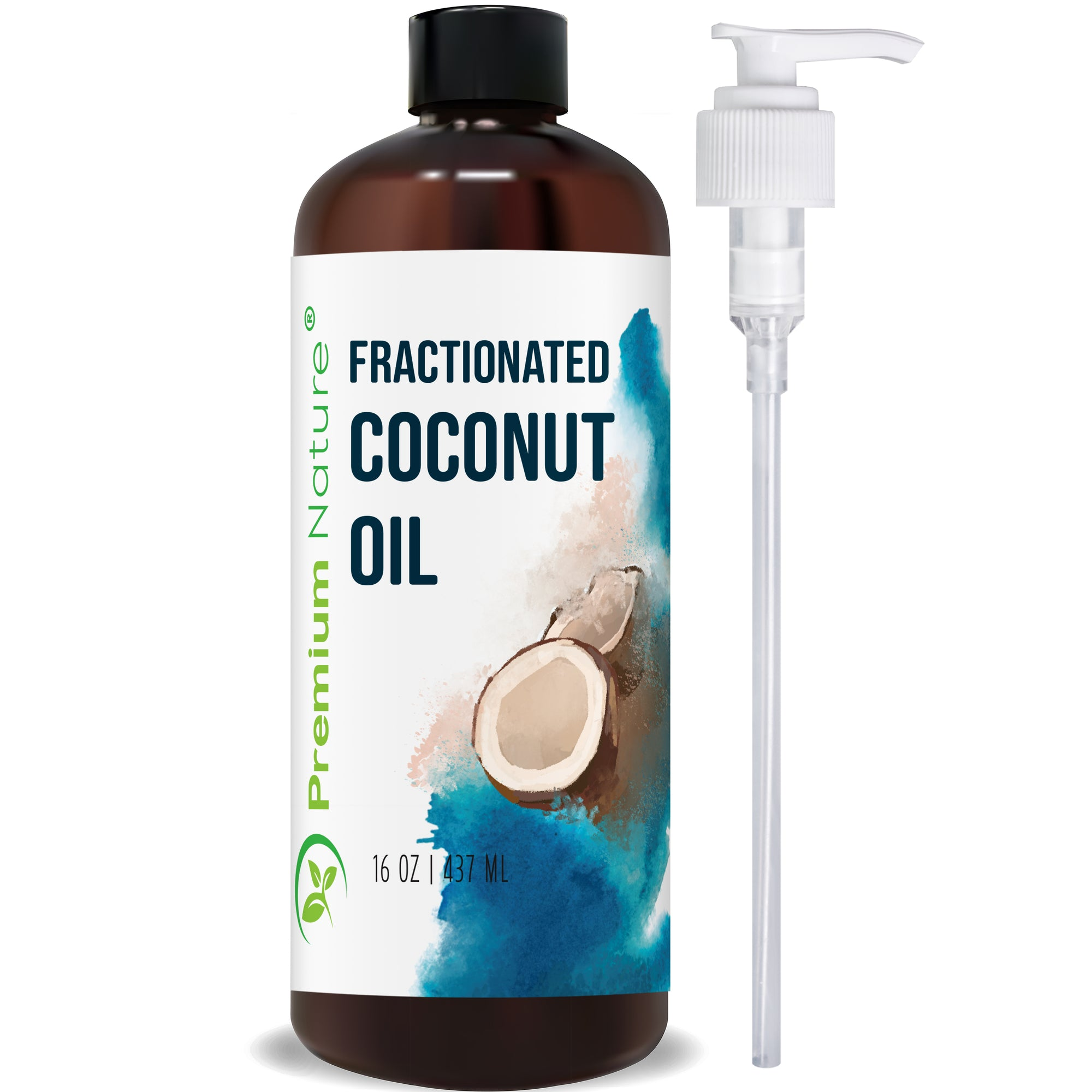Coconut Oil with Pump, 16 oz