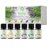 Aromatherapy Essential Oils Gift Set by Premium Nature
