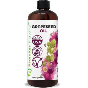 Grapeseed Oil, 16 oz