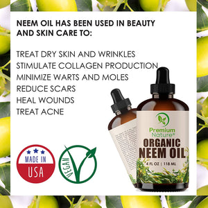 Neem oil by premium nature