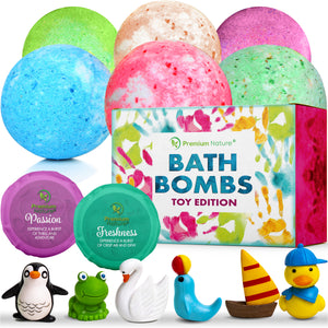 Toy Bath Bombs Premium Nature
