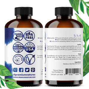 organic tea tree oil by Premium Nature