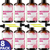 Rosehip Oil 4 oz - 8 pack