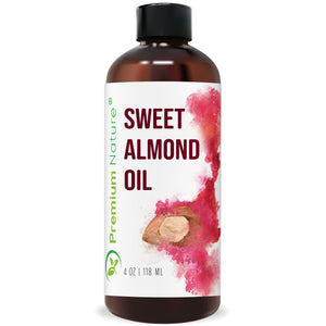 Sweet Almond Oil, 4 oz
