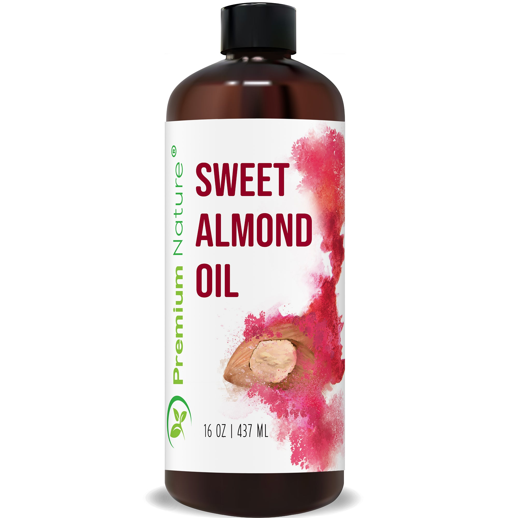 Sweet Almond Oil, 16 oz