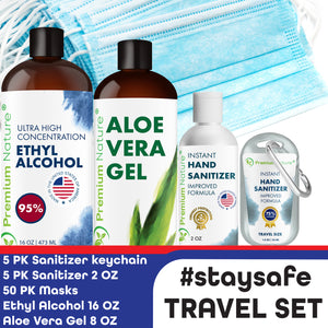 Stay Safe Travel Set 5 Pieces For Full Protection