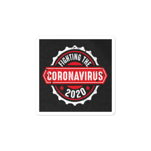 Fighting Coronavirus 2020 (Window Bubble-free stickers)
