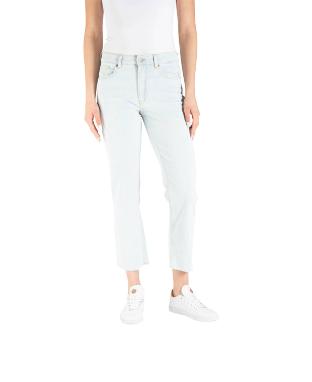 LUNA NW STRAIGHT CROP ECO - S LIGHT BLUE E052