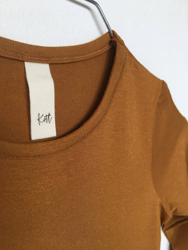 Basis bluse - Livli - Rust