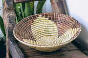 Bowl 35 cm - Maua brown