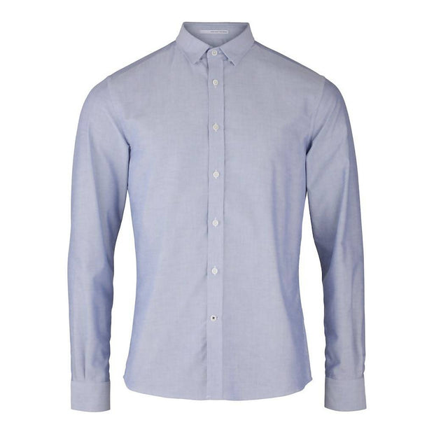 CONSJUS MENS OXFORD SHIRT BLUE SLIM FIT