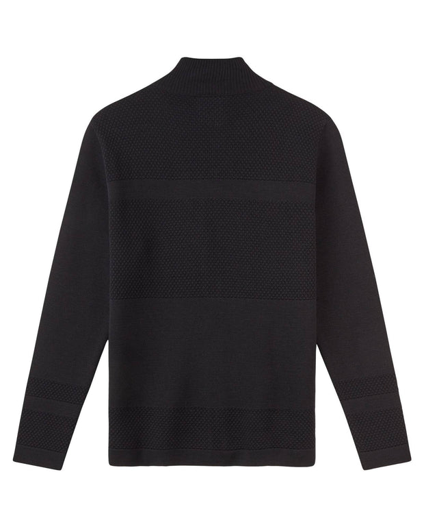 Le_Pirol_Lepirol_wex_sailor_zip_cardigan_strik_GOTS_økologisk_organic_merino_merinould_Fair_fashion_bæredygtig_mode_black_sort