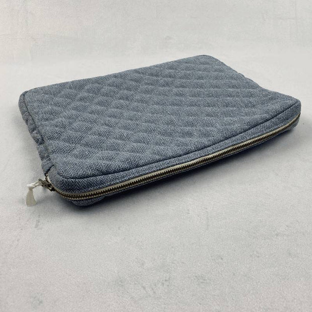 "13"" Computer cover - Blue wool"