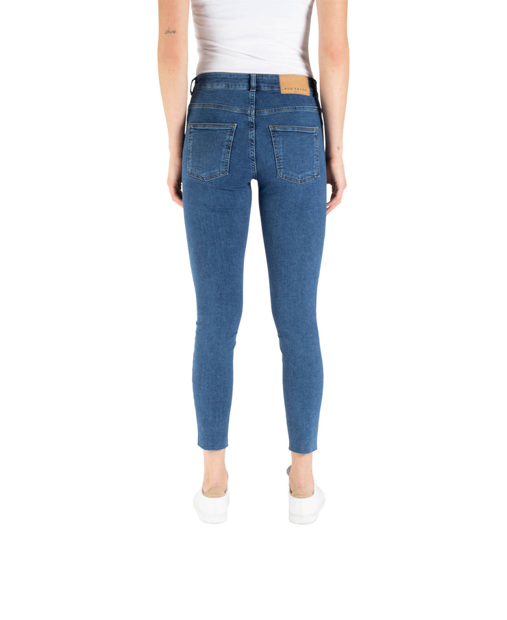 KATE NW SKINNY ANCLE ECO - MID BLUE E100