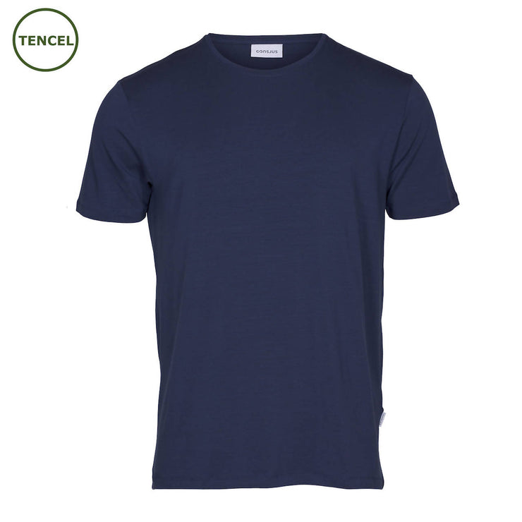 T-SHIRT I TENCEL™ - NAVY
