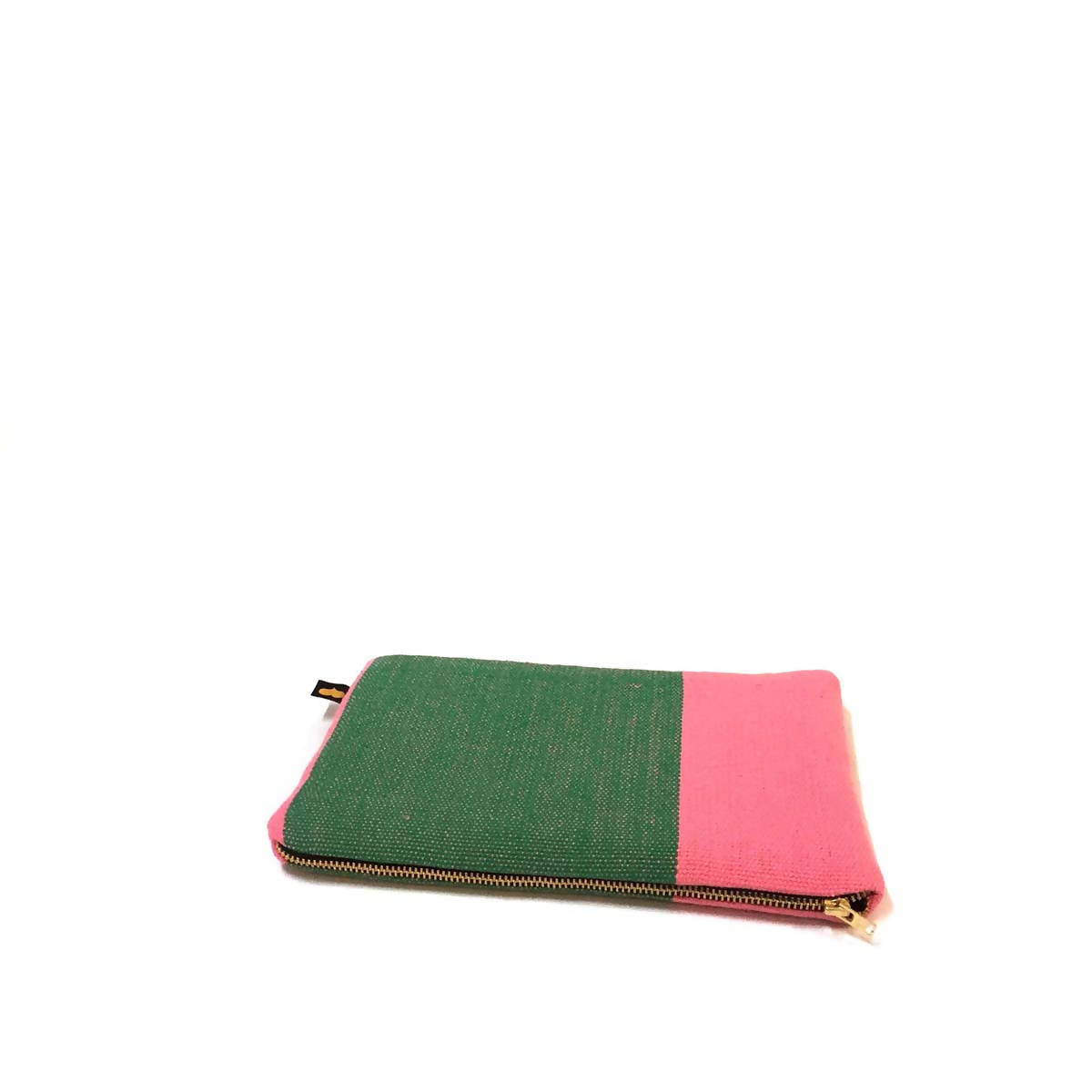 Image of   Clutch, pink/grøn
