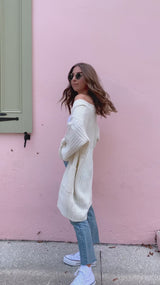Cream and Sugar Knit Cardigan