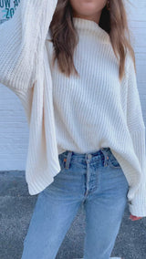 Warm and Fuzzy Chenille Sweater